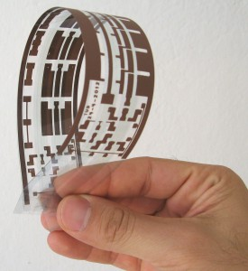 printed flexible circuit fabricated in the pm TU-Chemnitz